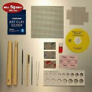 Art Clay Starter Kit Standard Silver Clay Pmc Tools Kiln Set For Ring And Jewelry