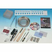 Pmc Silver Clay Deluxe Ring And Jewelry Pan Kiln Kit With Etcher Dvd Book And Tools