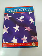 The West Wing Season 1 Episodes 12-22 - 3 X Dvd English French - 3t