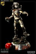 Wolf Predator Polystone Statue By Sideshow Collectibles Exclusive