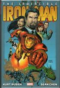 The Invincible Iron Man Omnibus By Kurt Busiek And Sean Chen Hardcover