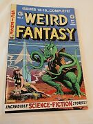 Ec Annuals Comics Weird Science Fantasy Vol 4 Issues 15-18 Complete Ships Free