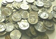 10 Oz Pre-1965 Mixed Us Minted Silver Halves, Quarters, Dimes All 90 Silver