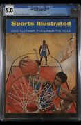 Sports Illustrated Newsstand 1967 Lew Alcindor Cgc 6.0 Second Cover