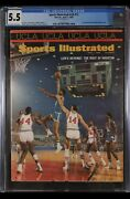 Sports Illustrated Newsstand 1968 Lew Alcindor Cgc 5.5 Third Cover