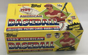 Sealed Topps 1989 American Baseball Collectors Edition Picture Cards Bubble Gum