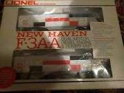 Vintage Lionel New Haven F•3a•a Dual Motor 6-8851 Running Diesel And Dummy J569