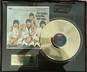 The Beatles Butcher Yesterday And Today Gold Lp Ultra Rare Framed Plate
