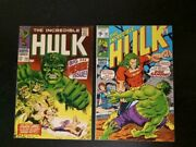 Incredible Hulk Lot Huge102 Thru 179 Complete -2. Also 183 184 185 And More