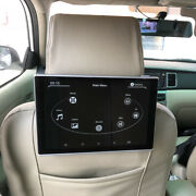 For Audi Car Tv Headrest Monitor With Wifi Android 9.0 Rear Seat Entertainment