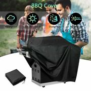 Heavy Duty Waterproof Bbq Barbecue Gas Grills Cover Case Outdoor Uv Protection