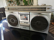 Sanyo M9935k Boombox - Missing Antenna-battery Compartment Cover-free Shipping