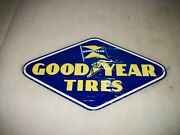 Reproduction Goodyear Tire Dealer Sign Vintage Look