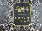 Game Of Thrones Vault Urban Decay Collectorsand039 Limited Edition New Make-up Set