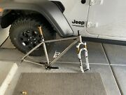 Spot Large Mountain Bike Frame With Fork Headset Cranks And Dropper Post