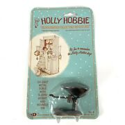 Vtg 1970s Holly Hobbie Old Fashioned Collectors Miniature Die Cast Scale And Bin