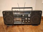 Sanyo M9998 Am/fm Radio Stereo Cassette Recorder Boombox Part's Or Repair