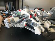 Lego Star Wars Rebels Ghost 85 Complete W Most Of Extra Parts And Misc Figures.