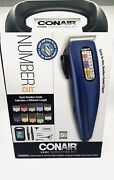 Moore Fo Less Presents Conair Number Cut Electric Hair Clippers Trimmer W/case