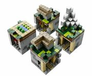 Lego Minecraft Micro World 21105 The Village Buildable Micromob Figures 466 Pcs