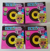 Lol Surprise Remix Hair Flip Dolls And Remix Pets Lot Of 4 Sealed Brand New