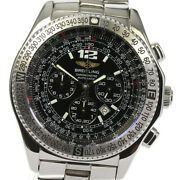 Breitling B-2 Professional A42362 Chronograph Black Dial Automatic Menand039s_604783