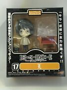 Collectible Death Note Nendoroid Series By Goodsmile 17 Detective L Lawliet