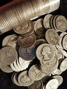 1 Face Value 90 Not Junk Silver U.s. Coin Lot Half Dollars, Quarters Or Dimes