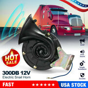 Universal 300db Loud Electric Horn Trumpet For Car Motorcycle Train Truck A9x3