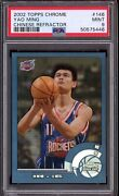 2002-03 Topps Chrome Chinese Refractor 146 Yao Ming Rc Rookie Psa 9 Mint Rare