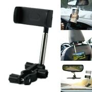 Universal 360anddeg Car Rearview Mirror Car Mount Stand Holder Cradle Cell Phone Gps