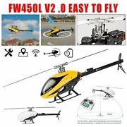 Fw450 Helicopter Rtf Rc Helicopter 6ch Full Metal Remote Control Aircraft