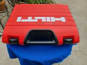 Hilti Wsr 18-a Reciprocating Saw W/2ea. Batteries And Charger In Suitcase - Used