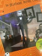 Sold Out Nightmare Before Christmas Jack Skellington Animatronic 6.5 Ft New