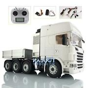 Lesu 1/14 88 Metal Chassis Sound Radio Hercules Scania R730 Cab Tractor Truck