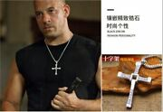 Dominic Toretto 925 Sterling Silver Cross Pendant Necklace Fast And Furious 2021