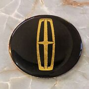 Black And Gold Lincoln Dayton Wire Wheel Chips Emblems Decals Set Of 4 Size 2.25in