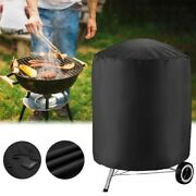 For Garden Patio Kettle Bbq Grill Cover Barbecue Round Smoker Covers Waterproof