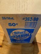 1990 Topps Baseball Wax Box Unopened Un Touched Ex/mt-nr /mt