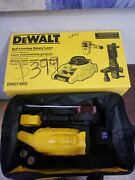 Dewalt Dw074kd 150 Ft. Red Self-leveling Rotary Laser Level W/ Detector And Cla...