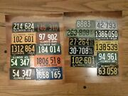 Automobile Licence Plates Complete Illinois James Fox Collection In His Book