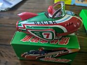 Vintage Tin Toy Friction Cars