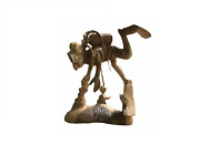 New Edition 16 Scuba Diver With Gears Hand Carved On Balinese Vintage Suar Wood