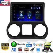 10.1 Android 10.1 Car Gps Radio Stereo Touch Screen For 2011-2014 Jeep Wrangler