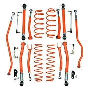 For Jeep Wrangler 18-20 3.5 Double Adjustable Front And Rear Suspension Lift Kit