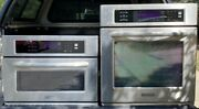 Kitchenaid 27 Built In Wall Double Combo Oven Microwave Convection Stainless