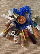 Vintage Gumball Necklace Unusual Charms Trinkets Prizes Food Fest