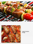 Portable Stainless Steel Barbecue Grill Charcoal Grill For Outdoor Cooking Kit