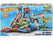 Hot Wheels Ultimate Gator Car Wash Play Set With Color Shifters Kids Play Gift
