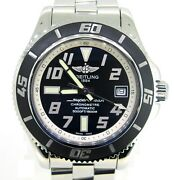 Breitling Super Ocean Stainless Steel Automatic Chronograph Watch 42 Mm
